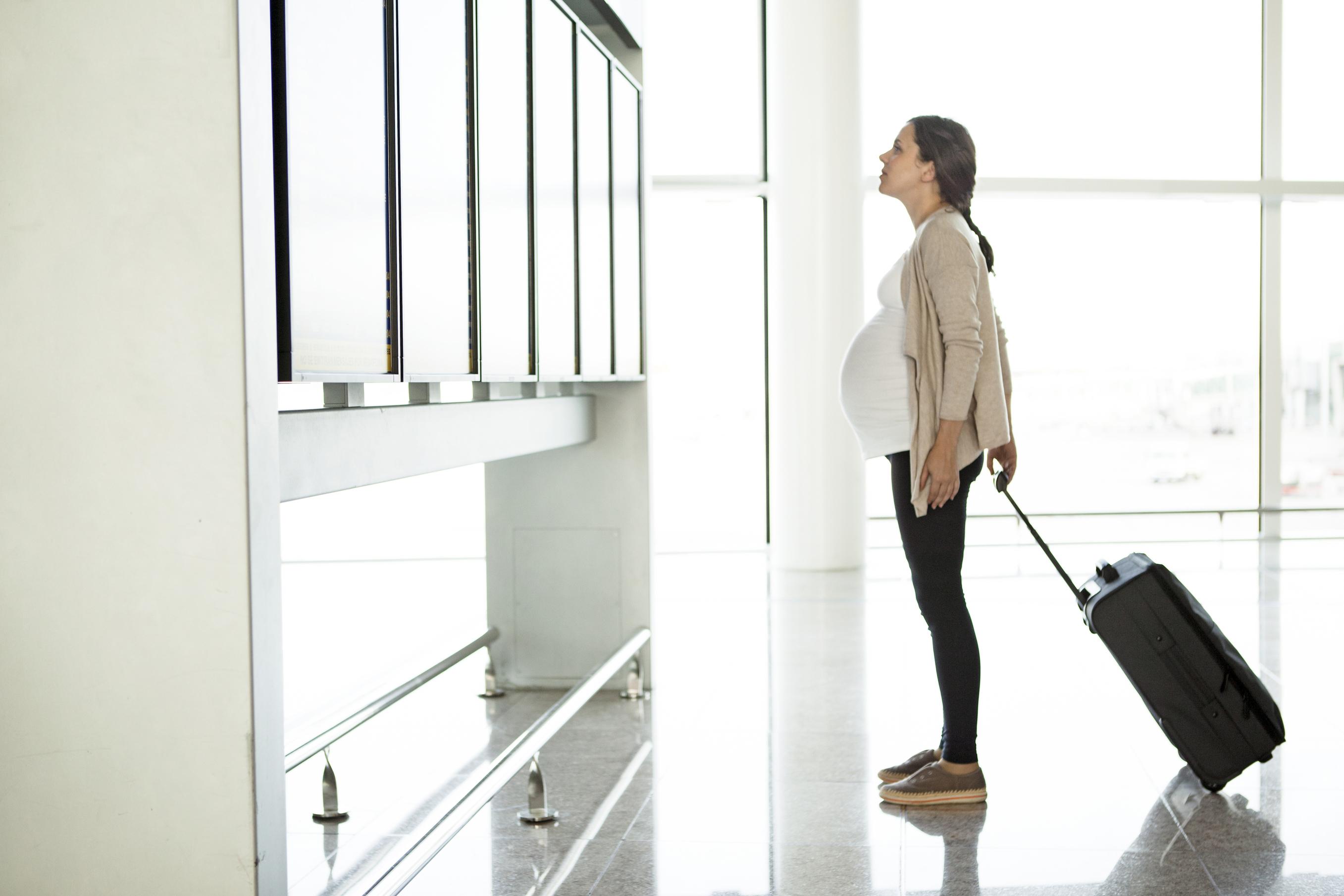 Les endroits où ne pas voyager pour femme enceinte